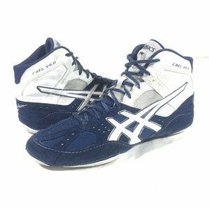 Asics Cael Sanderson Men's US 11 Wrestling Shoes